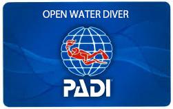 PADI オープンウォーター・ダイバー